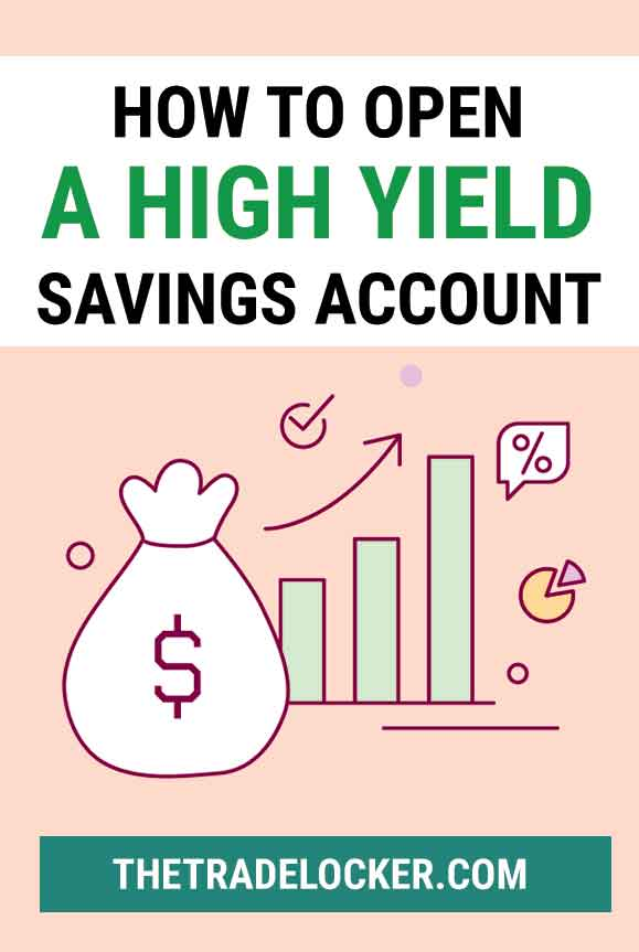 how to open a high yield savings account